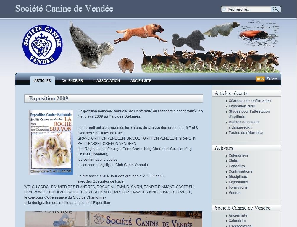 Société Canine de Vendée
