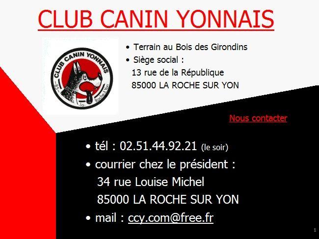 Club Canin Yonnais